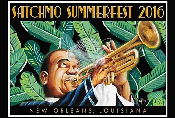 French Quarter Festivals, Inc. announces 2016 Satchmo SummerFest poster artist Terry Marks