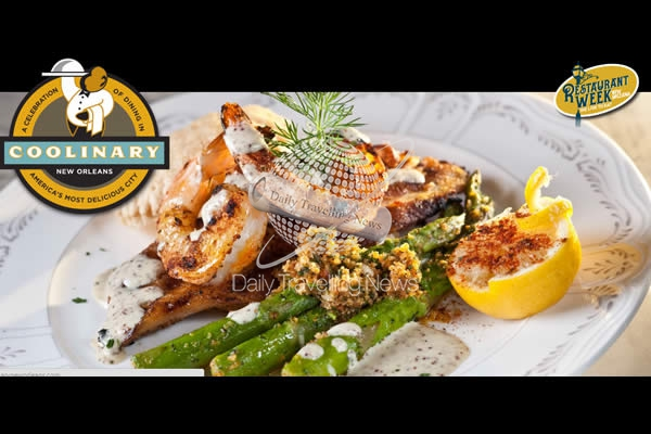 New Orleans launches12th Annual COOLinary New Orleans Restaurant Month