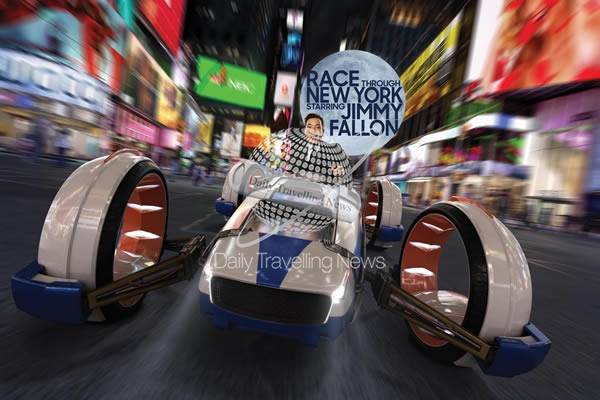 "Universal Orlando con nueva atracción ""Race Through New York Starring Jimmy Fallon"""