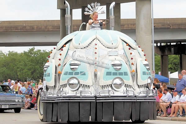Houston Art Car Parade te invita a celebrar la creatividad