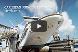 DailyWeb.tv - El Caribbean Princess en Dique Seco