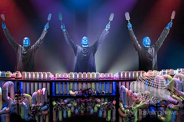Blue Man Group, un show original de tres amigos creativos