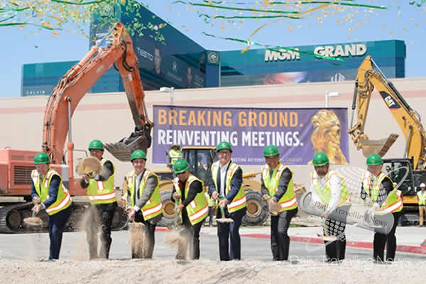 MGM Grand breaks ground on Conference Center and Stay Well® Meetings expansion