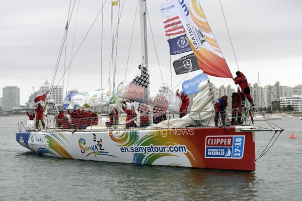 Punta del Este recibe a Clipper Round the World Yacht Race