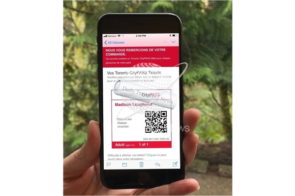 Toronto CityPASS Program Adds Mobile Ticket Option