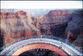 El Grand Canyon Skywalk y el Grand Canyon West en la lista Daily Mirror�s de los mejores Skywalks del mundo