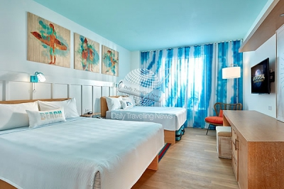 Una vista a las habitaciones del Universals Endless Summer Resort - Surfside Inn and Suites