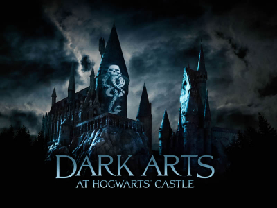"Universal Studios introduce ""Dark Arts at Hogwarts Castle"""