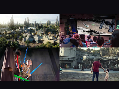 """Star Wars, Galaxy Edge"" anticipa su apertura"