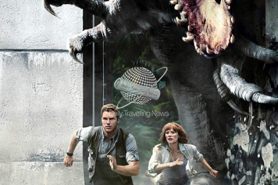 The first time the cast of Jurassic World will appear outside of the films