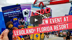 DailyWeb.tv - The LEGO Movie Days at LEGOLAND Florida Resort