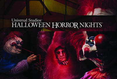The Crazed Klowns land to Halloween Horror Nights