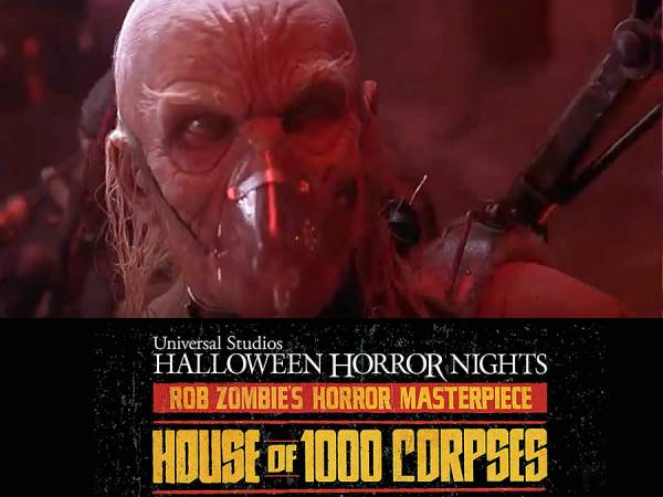 """House of 1000 Corpses"" llega a Halloween Horror Nights"