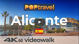 DailyWeb.tv - Caminata Virtual por Alicante en 4K