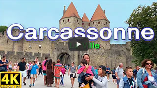 DailyWeb.tv - Caminata Virtual por Carcassonne en 4K